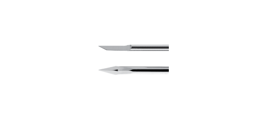 Myringotomy Micro Knives, Malleable Tapered Shaft